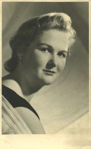 Morag Noble c.1950.