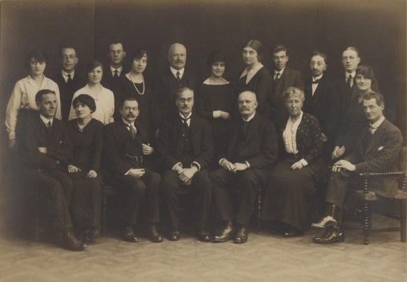 TCM personnel, 1920