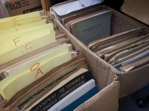 Just a couple of boxes of the recent cello donation - full of hidden gems!