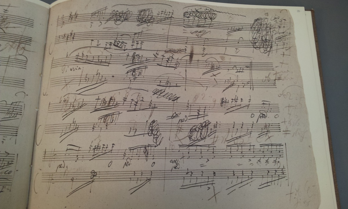 the delights of handwritten scores jerwood library of
