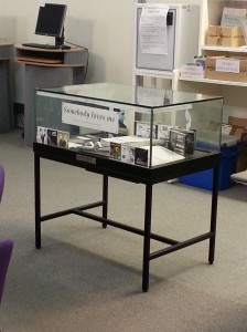 Photo of the Gershwin item of the month display