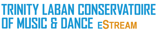 Trinity Laban Conservatoire of Music & Dance eStream logo