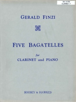 Finzi Bagatelles cover