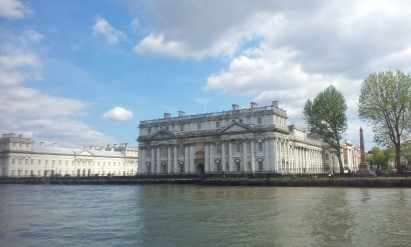 King Charles Court viewed from the river Thames