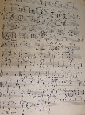 The original manuscript of Tertis' Viola arrangement of Delius' 2nd Violin Sonata