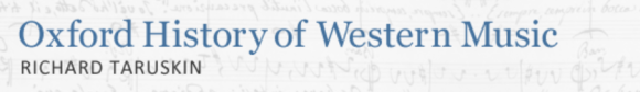 oxford history of western music logo