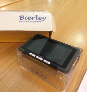 Bierley electronic magnification device